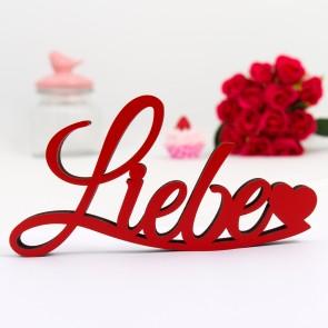 Dekoschriftzug Liebe