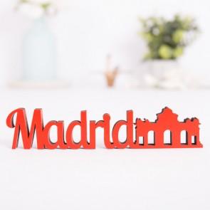 Dekoschriftzug Madrid