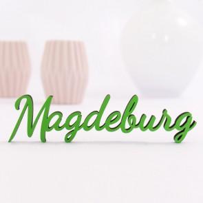 Dekoschriftzug Magdeburg