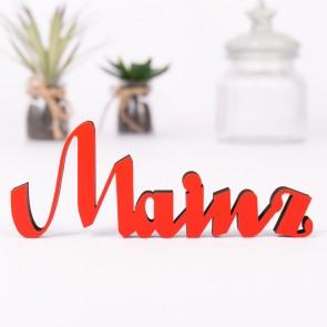 Dekoschriftzug Mainz
