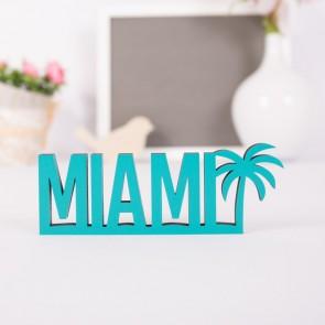 Dekoschriftzug Miami