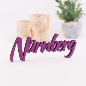 Dekoschriftzug Nürnberg