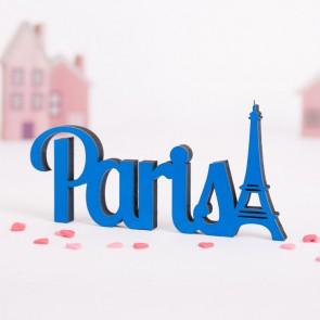 Dekoschriftzug Paris