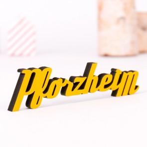 Dekoschriftzug Pforzheim