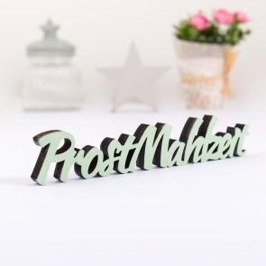Dekoschriftzug Prost Mahlzeit