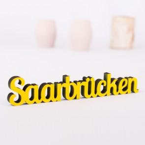 Dekoschriftzug Saarbrücken