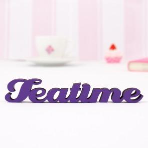 "Dekoschriftzug ""Teatime"""