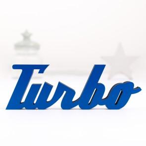 Dekoschriftzug Turbo