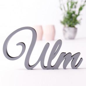 Dekoschriftzug Ulm