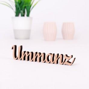 Dekoschriftzug Ummanz