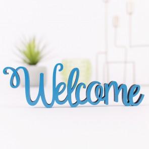 Dekoschriftzug Welcome
