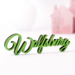 Dekoschriftzug Wolfsburg