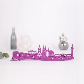 3D-Skyline Köln aus Holz