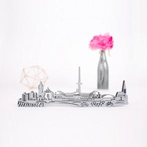 3D-Skyline Münster aus Holz
