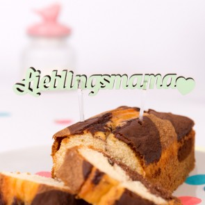 KLEINLAUT Halter für Kuchen, 2 Stück