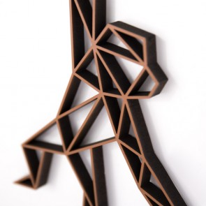 ORIGAMI 3D-Motiv Affe