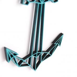 ORIGAMI 3D-Motiv Anker
