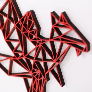 ORIGAMI 3D-Motiv Drache