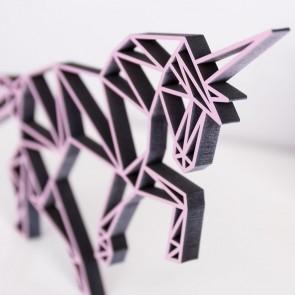 ORIGAMI 3D-Motiv Einhorn