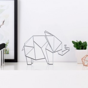 ORIGAMI 3D-Motiv Elefant