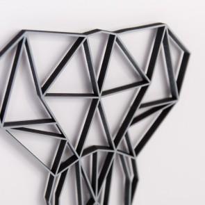 ORIGAMI 3D-Motiv Elefantenkopf