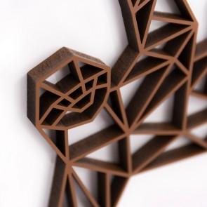 ORIGAMI 3D-Motiv Faultier