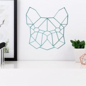ORIGAMI 3D-Motiv Französiche Dogge