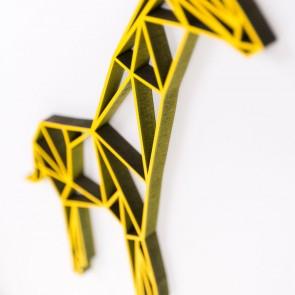 ORIGAMI 3D-Motiv Giraffe