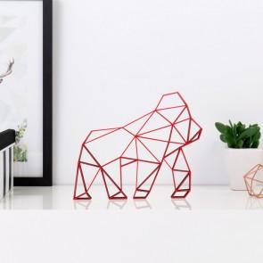 ORIGAMI 3D-Motiv Gorilla