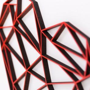ORIGAMI 3D-Motiv Herz