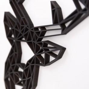 ORIGAMI 3D-Motiv Hirschkopf