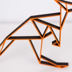 ORIGAMI 3D-Motiv Känguru
