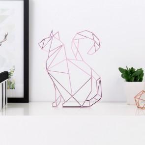 Katze sitzend Origami