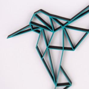 ORIGAMI 3D-Motiv Kolibri 2