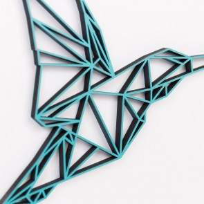 ORIGAMI 3D-Motiv Kolibri