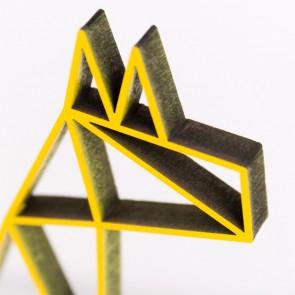 ORIGAMI 3D-Motiv Lama
