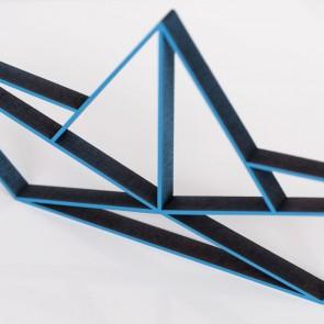 ORIGAMI 3D-Motiv Papierboot