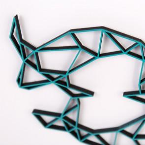 ORIGAMI 3D-Motiv Sternzeichen Fische