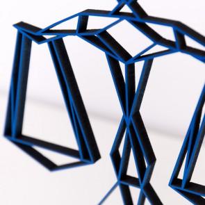 ORIGAMI 3D-Motiv Sternzeichen Waage