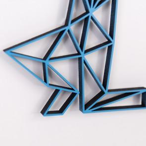 ORIGAMI 3D-Motiv Sternzeichen Wassermann