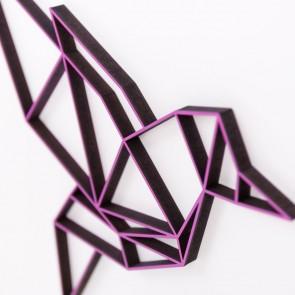 ORIGAMI 3D-Motiv Vogel