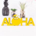 Aloha 3D-Schriftzug