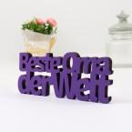 3D Schriftzug Beste Oma der Welt