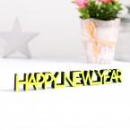 Dekoschriftzug Happy New Year