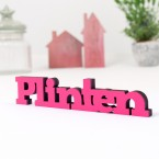 3D-Schriftzug Plinten