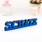 3D-Schriftzug Schatz