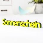 3D-Schriftzug Sonnenschein