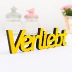 3D-Schriftzug Verliebt