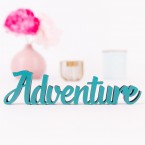 3D-Schriftzug Adventure