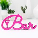 Dekoschriftzug Bar